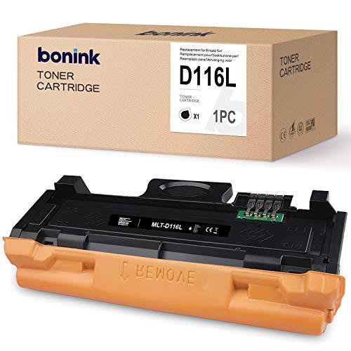 BONINK Kompatibel mit Samsung D116L MLT-D116L Schwarz Toner für Samsung Xpress SL M2835dw M2625d M2825nd M2885fw M2825dw M2675 M2675fn M2875fd M2626 M2626d M2676 M2676n M2676fh Drucker