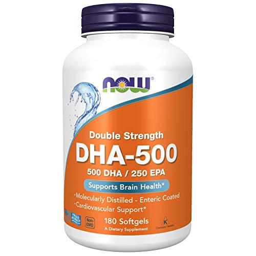 Omega 3 DHA-500 - EPA 250 (180 Softgels) - Now Foods