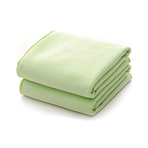 Frutero Toalla Grande Súper Absorbente Y De Secado Rápido, Adecuado para La Mochila De Camping Deportiva Nadando (Verde)