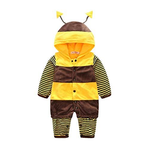 Wamvp Halloween-kostüm-marienkäfer-Bienen-Baby-Kleinkind-Spielanzug