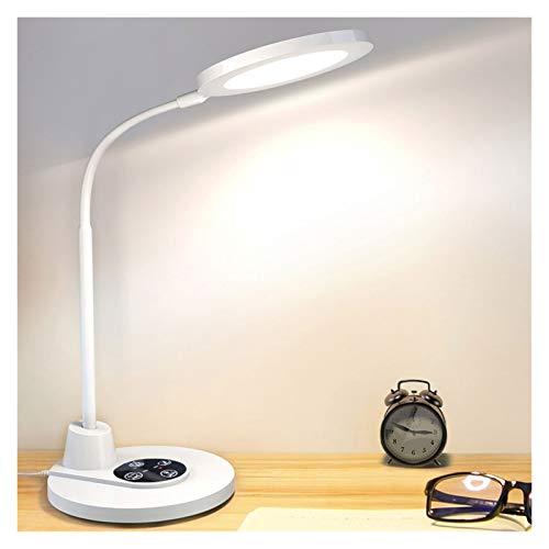 Lampara de Lectura Lámpara De Escritorio Dimmible LED Escritorio Luz Táctil Control De Ojo De Protección Lámpara De Mesa De Protección for La Oficina En Casa De Dormitorio Lámpara de Escritorio Modern