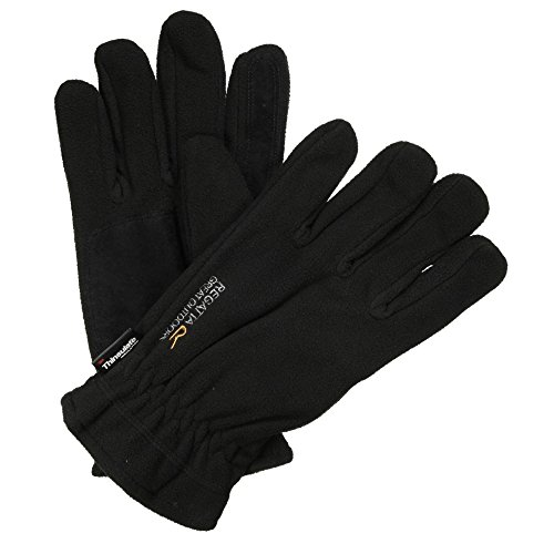 Regatta - Great outdoors - guantes modelo kingsdale unisex adultos hombre caballero (s/m/negro)