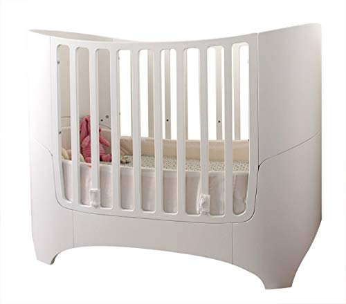 Leander Nestchen für Babybett aus Baumwolle in Weiss