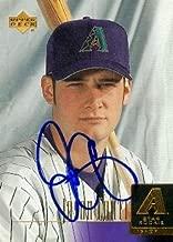 Autograph Warehouse 96300 Jason Conti Autographed Baseball Card Arizona Diamondbacks 2000 Upper Deck Rookie No. 26