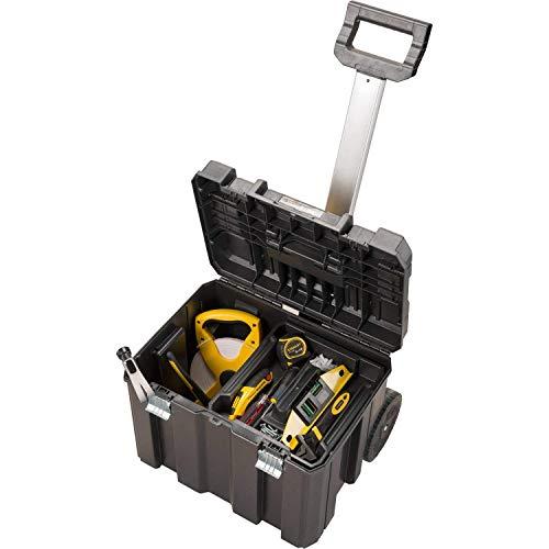 Stanley 195828 - Caja de herramientas con ruedas (66cm, galvanizada)