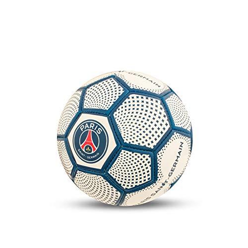 Paris Saint Germain - Fußball mit Wappen - Offizielles Merchandise - Weiß - Größe 1