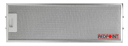 Redpoint® Aluminiumfilter für Elica, Ikea, Whirlpool 177 x 533 x 8 mm