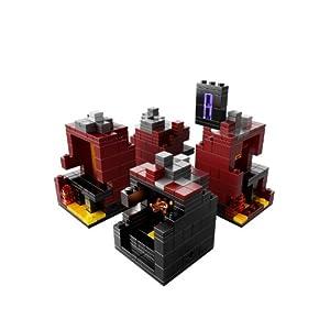 Amazon.co.jp - レゴ マインクラフト マイクロワールド ネザー 21106