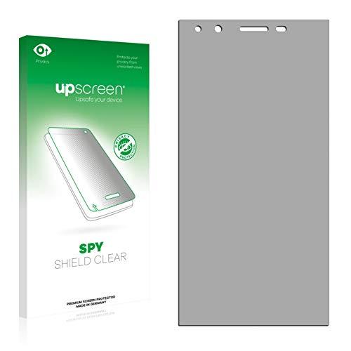 upscreen Anti-Spy Blickschutzfolie kompatibel mit Phicomm Passion 2014 Privacy Screen Sichtschutz Bildschirmschutz-Folie