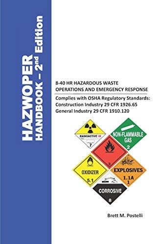 HAZWOPER HANDBOOK 8-40HR HAZARDOUS WASTE OPERATIONS AND EMERGENCY RESPONSE