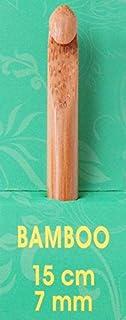 Pony Crochet Aiguilles à tricoter en bambou 15 cm - 7,00 mm