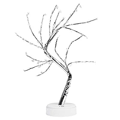 Amazon - Save 80%: Artificial Decorative Lamp | 60 Warm White LED Star USB Operated| Tabletop…