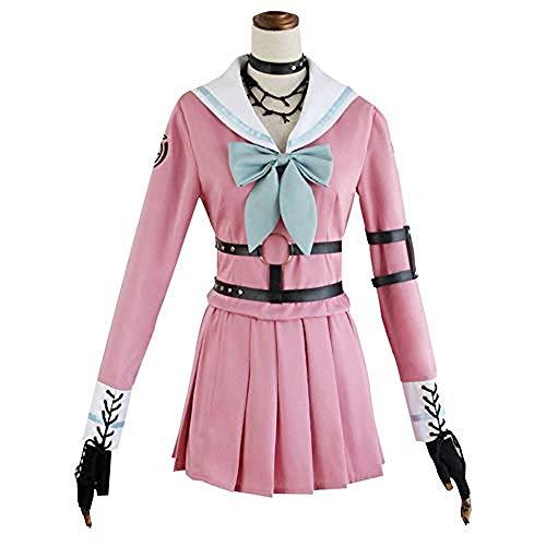 JWCN Traje de Cosplay Danganronpa Iruma MIU, Disfraz de Carnaval de Halloween, Disfraz de Cosplay, Uniforme de Escuela Secundaria japonesa-3XL Uptodate