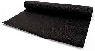 Esterilla de Gimnasia Muy Ligera y Duradera Esterilla de Yoga de PVC Material con Estructura Reforzada Suave Goma 3 mm de Grosor Plegable y fácil de Transportar Muy Ancha 180 x 60 cm