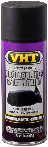 VHT Hood, Bumper & Trim Paint Satin Spray Black 11 Oz.