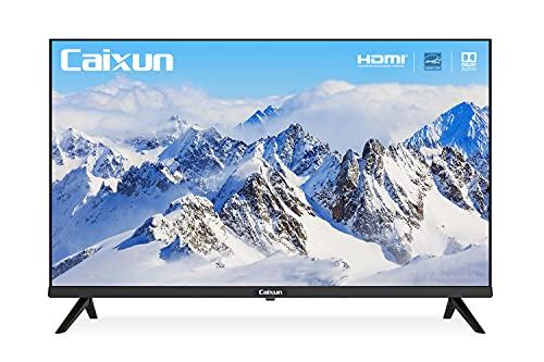 Caixun EC32Z1 - Televisor LED HD Ready (81 cm, 32 pulgadas, sintonizador triple, DVB-T T2 S S2, negro, integrado en puerto HDMI y puerto USB, 720 píxeles) [Año 2020]