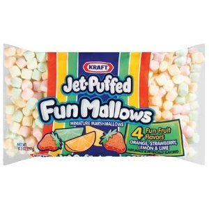 Kraft Jet-Puffed Fun Mallows 10 Ounces (2 bags)