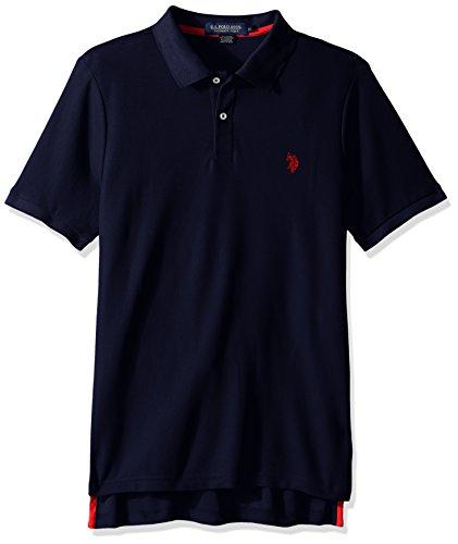 U.S. Polo Assn. Men's Ultimate Pique Polo, Classic Navy, M