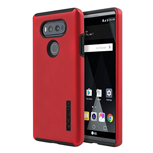 Incipio Dual Pro Dual Layer Hard Slim Case Cover for LG V20 - RED