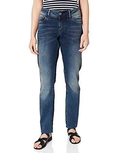 G-STAR RAW Damen Lynn Mid Waist Skinny Jeans, Blau 8968-812, 24W / 32L