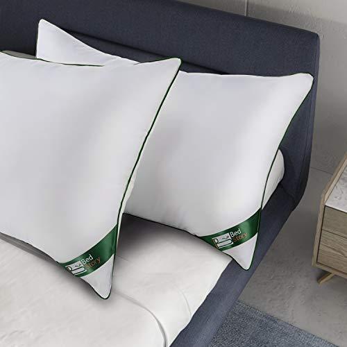 BedStory Almohadas Antiácaros 42 x 70cm Almohadas Fibra con Relleno 3D Fibra...