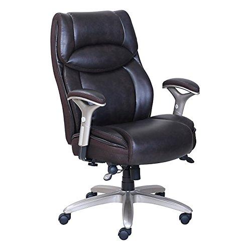 Serta Smart Layers Jennings Super Task Big And Tall Chair, Brown