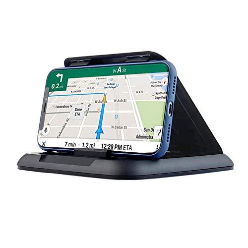 Soporte de teléfono para coche, soporte de teléfono celular para coche, silicona para coche, soporte para GPS para coche, soporte universal para todos los teléfonos inteligentes compatible con iPhone