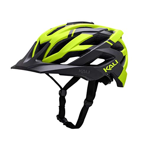 Kali Protectives 2017 Lunati Enduro Casco de bicicleta, L-XL, Shade Matte Black/Fluorescent...