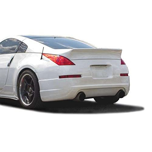 Nissan 350Z 2003-2008 Duckbill Style 1 Piece Polyurethane Rear Wing Spoiler manufactured by KBD