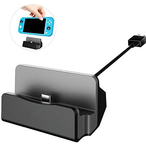 DALV - Base de carga para Nintendo Switch TV (adaptador HDMI 4K, para Nintendo Switch con USB 3.0 y tipo C)
