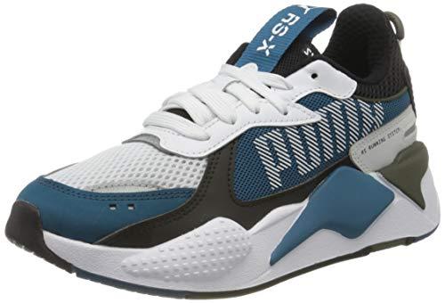 PUMA RS-X Bold, Sneaker Unisex - Adulto, Bianco (Puma White-digi-Blue-Puma Black), 43 EU