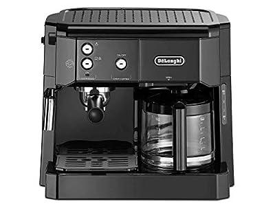 DELONGHI BCO411.B De'Longhi BCO 411.B Coffe Maker, stainless steel, rust-proof, 1750 W, 1 Liter, Black