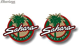 2 Sahara Edition V1 Vinyl Sticker Decals Accessories Decal Stickers
