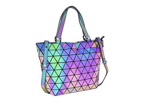 Geometrisch Rucksack Fashion Rucksäcke Damen Leuchtend Taschen Handtasche Schultertasche Schule Rucksack NO.3