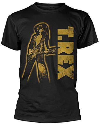 T.Rex Guitar (Black) T-Shirt (Small)