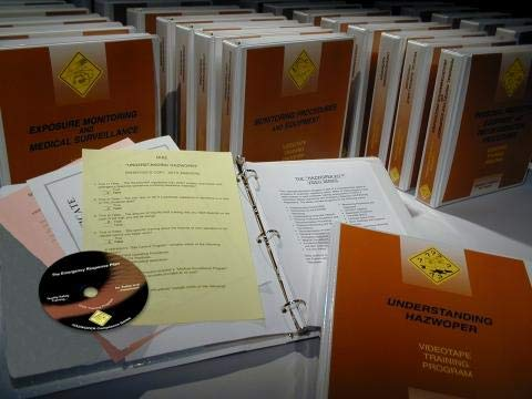 HAZWOPER; Complete 40-Hour Training Series DVD