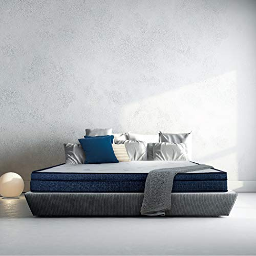 Sleepwell Cocoon Two-As-One Customizable Feel Mattress with Free Pillow (78x60x6)