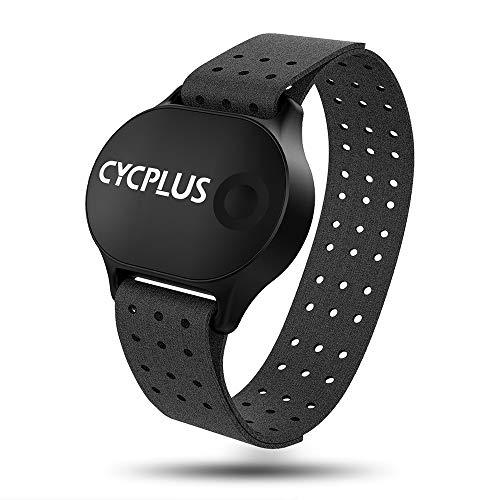 CYCPLUS心拍計アームバンド 光学式心拍センサー ANT+&Bluetooth4.0対応 生活防水 腕に巻くタイプ