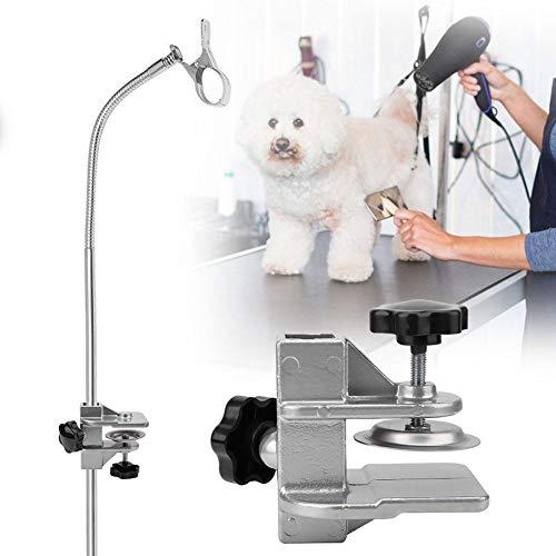 Sheens Morsetto per Armi Tavolo per toelettatura, Accessori per Tavolo per toelettatura per Animali Domestici Regolabili per Cani Gatto Gattino(2.3 * 2.3cm)