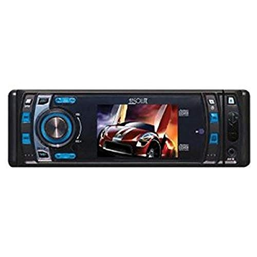 Absolute DMR400 4-Inch In-Dash Receiver with DVD Player Flip Down Detachable...
