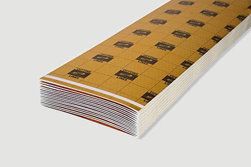 EGGER Laminat Unterlagsmatte Silenzio Duo 1,5mm Trittschalldämmung für Designboden 10m² Laminatunterlage