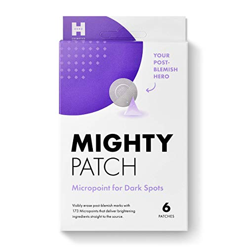 Mighty Patch Micropoint for Dark Spots - Hydrocolloid Post-pimple Dark Spot Brightening Patch (6 Patches)