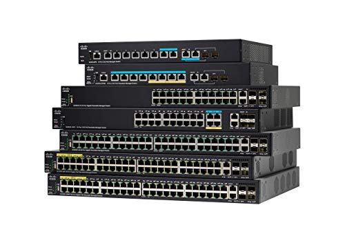 Cisco SG350X-48MP gemanaged L3 Gigabit Ethernet (10/100/1000) zwart 1U energie over Ethernet (PoE) ondersteuning