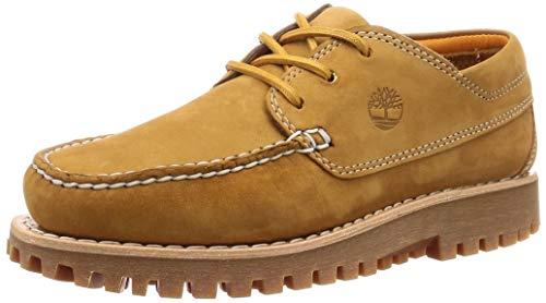 Timberland Jackson's Landing Chaussures de tricot pour homme Jaune - Marron - Blond (Trigo), 47.5 EU EU
