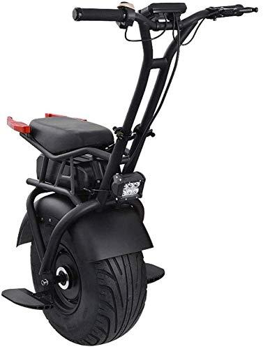 ZYLZL Scooter Electrico Carretilla Equilibrio Del Coche Adulto Scooter Suv 60V Batería de Iones de Litio con Pasamanos Ser Aplicable/A/Load bearing160kg