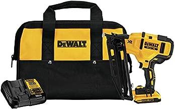 DEWALT DCN660D1 20V MAX XR 16 GA Angled Finish Nailer Kit