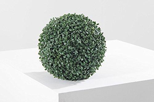 VERDELOOK Sempreverde Greenball Deauville 38x38 cm, Foglia bosso, Decorazioni Giardino