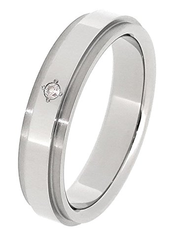[フェフェ]fe-fe×phiten [特 別 仕 様] ファイテン 平打ち ライン ダイヤモンド チタン リング 7〜15号 (13号) 指輪 レディース シンプル