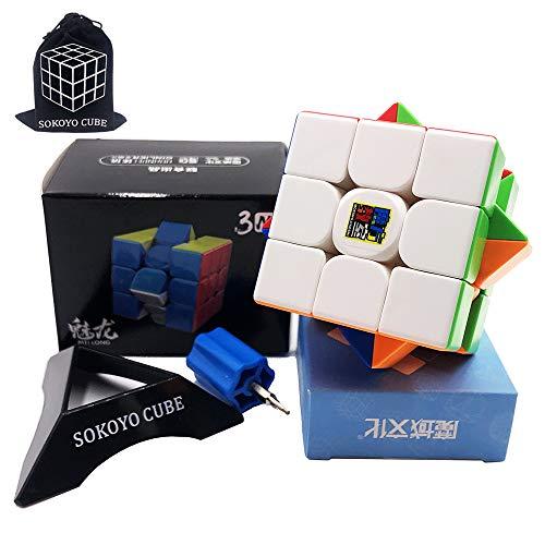 SOKOYO Moyu Meilong M magnético 2x2 3x3 Cubo mágico 4x4 5x5 Stickerless Speed Cube Magnet Puzzle Cube 2x2x2 3x3x3 4x4x4 5x5x5 (3x3x3)