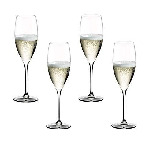 Riedel @ Grape Champagne 4er Set (2x 6404/28)